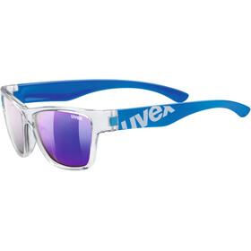 UVEX sportstyle 508 Kids Okulary rowerowe Dzieci, clear blue